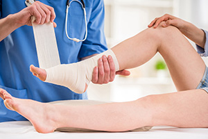 podiatry foot care specializing in wound care